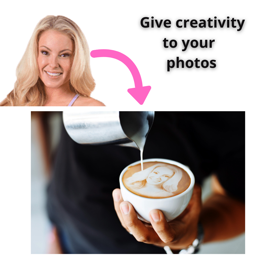 Give creativity to your photos