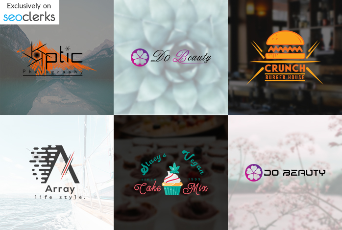 I will create modern minimalist and watermark logo for your business