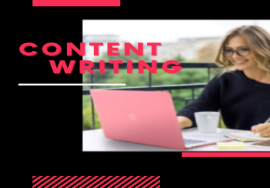 I will do 1500 words 2 article writing,  content writing,  blog writing on any topic