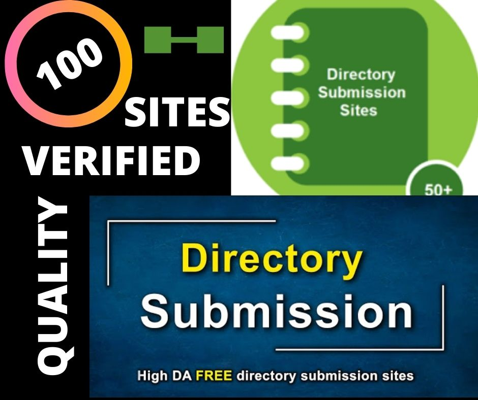 I Wil provide 100 High Quality Directory Submission
