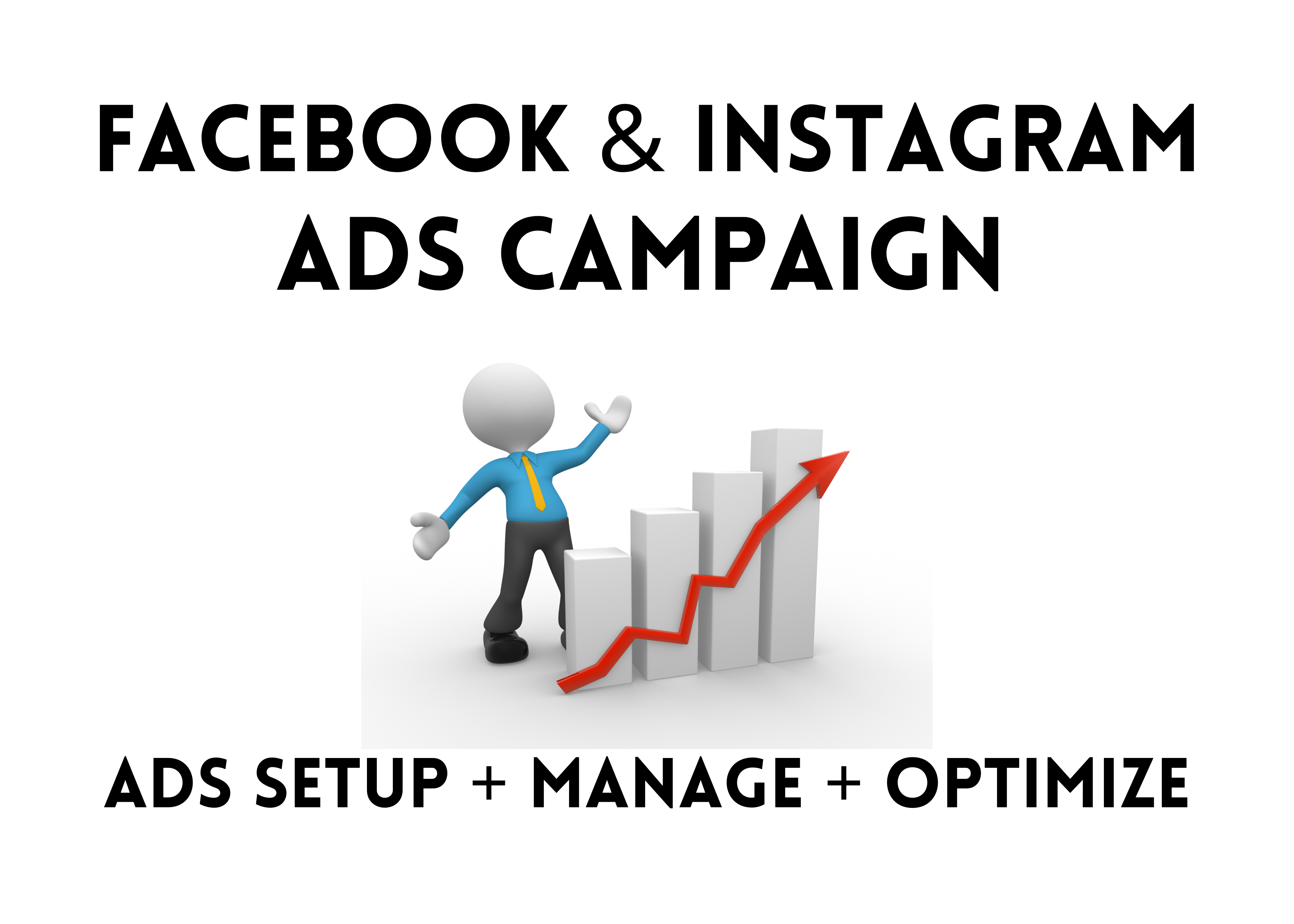 I will be your facebook ads campaign manager for your business or service