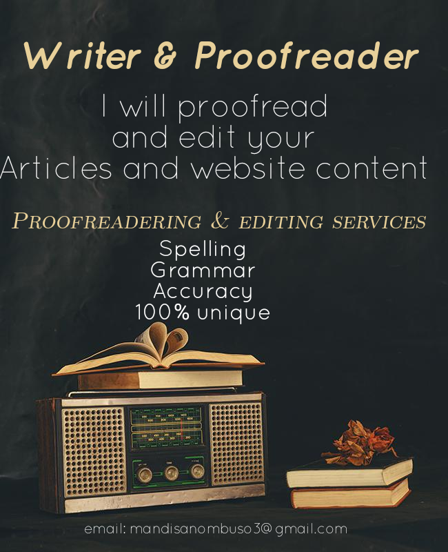 Proofreading Epic by Nombuso M.