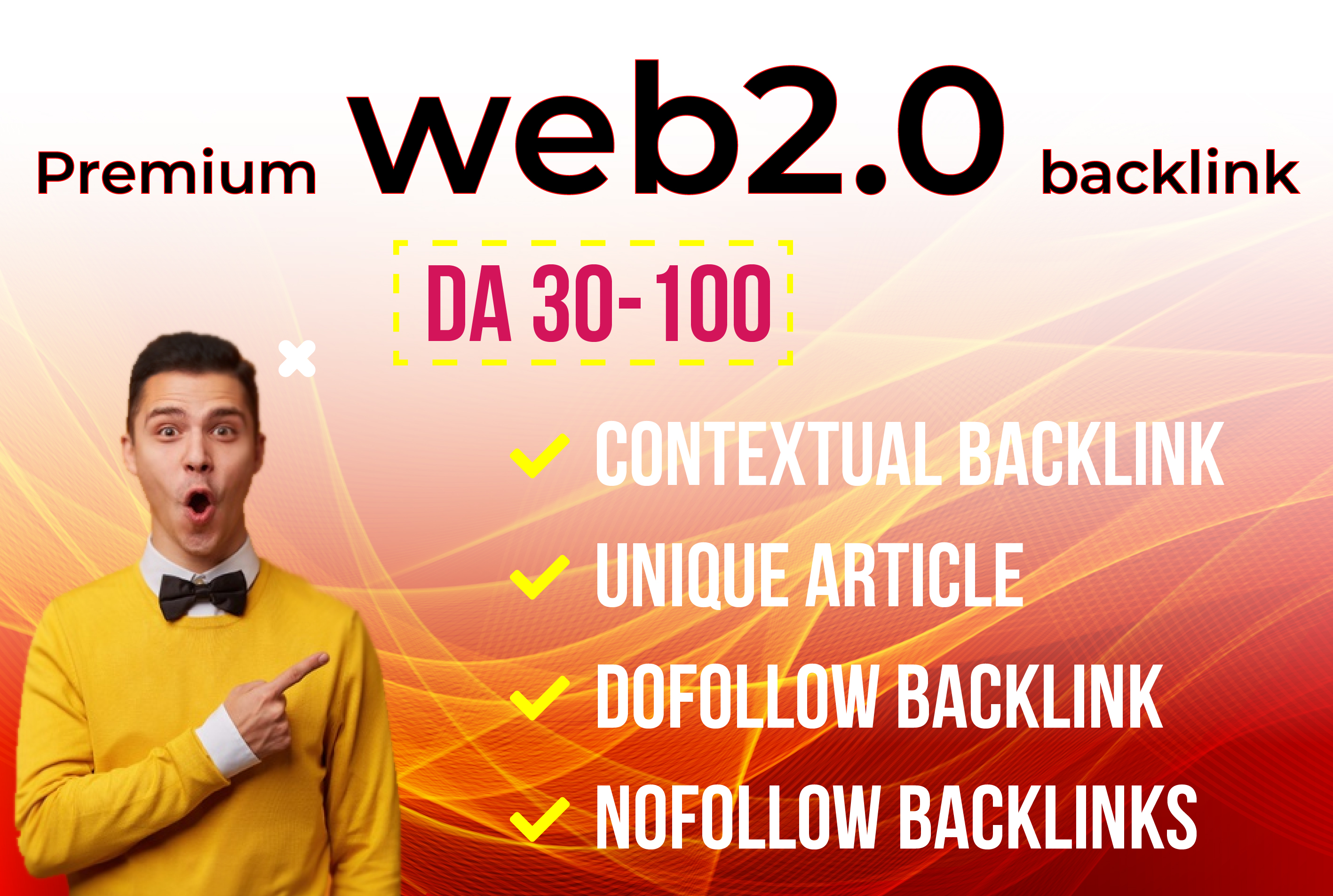 I will build web 2.0 high quality backlink