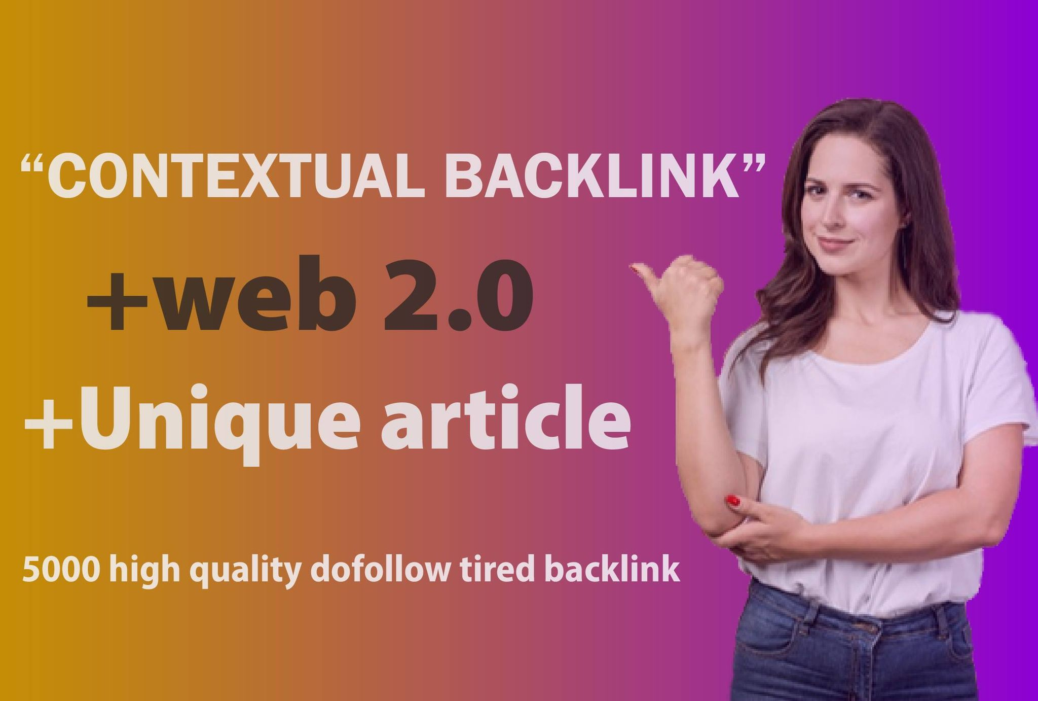 I will build 5000 dofollow seo contextual quality backlinks