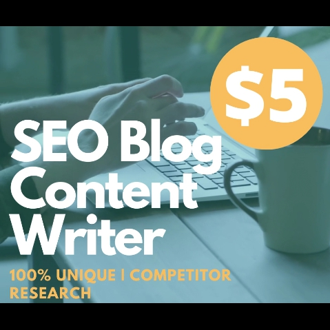 I will Write Unique 500+ SEO Article Writing,  Blog Post Writing or Content Writing
