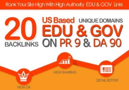 creat 100 manullay 20 EDU/GOV Safe SEO High Pr9 Backlinks 2021 Best Result
