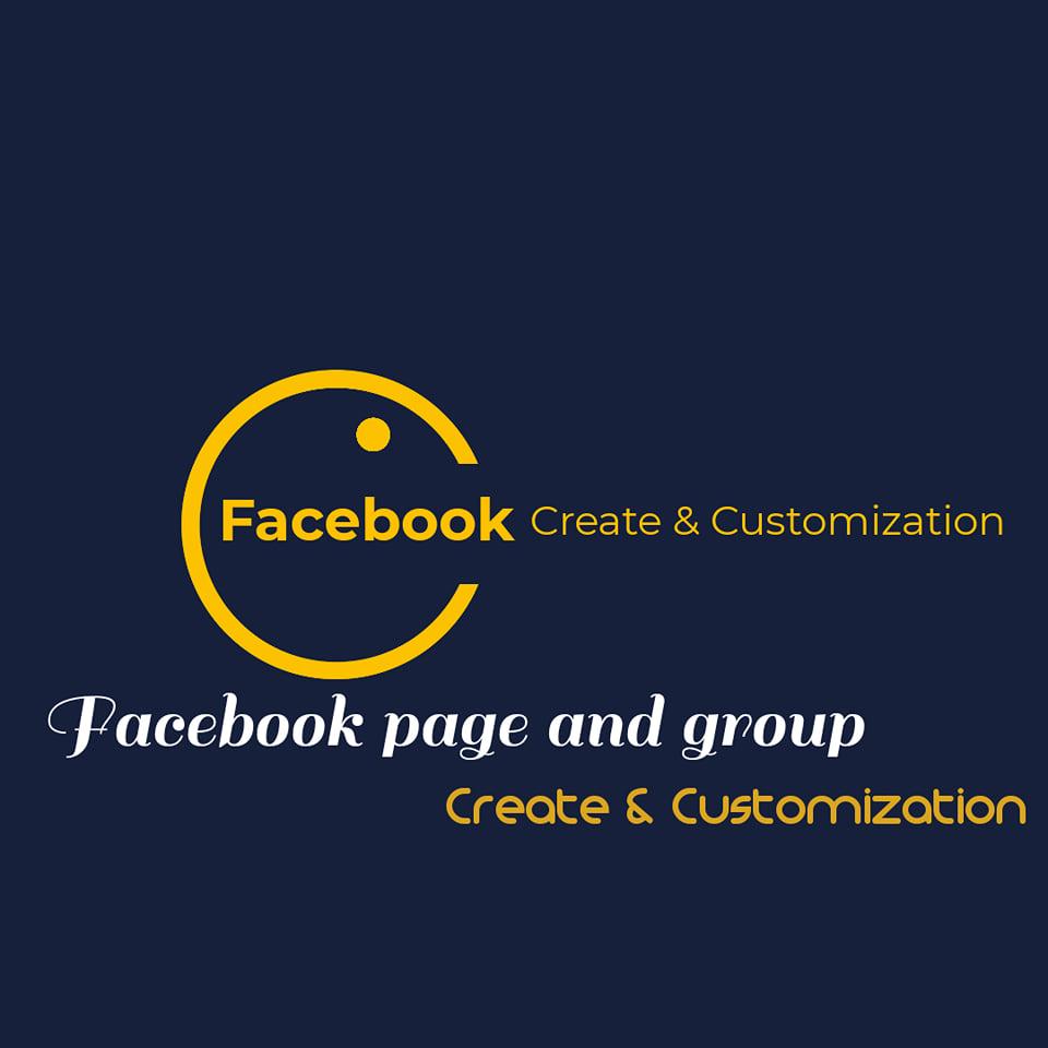 I will create & Customization Page & Group