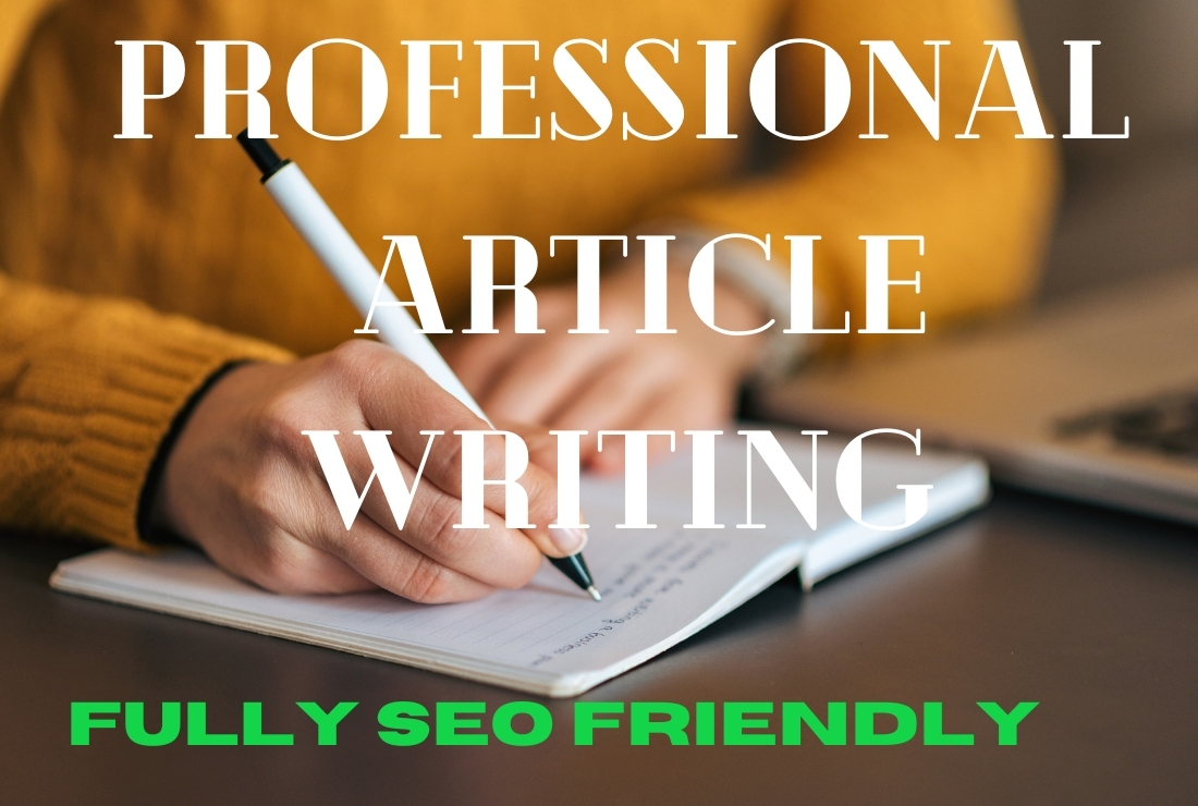 I will write entirely SEO-friendly 1000+ words two unique articles or blog content on any topics