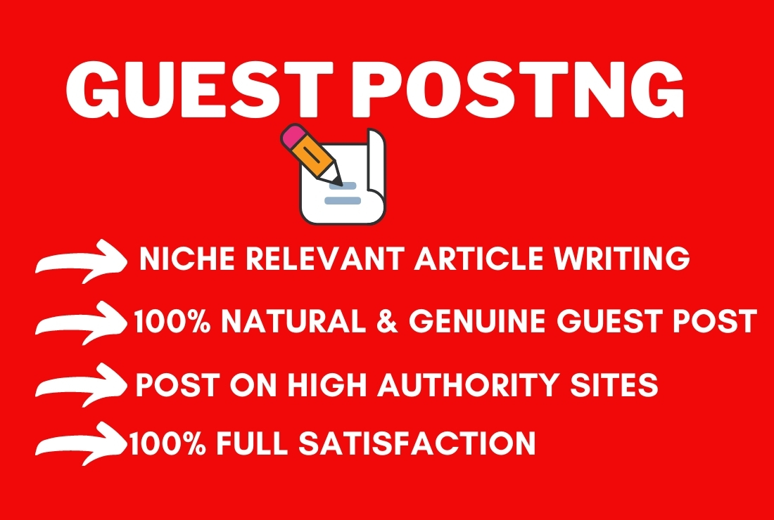 I will publish 1 Guest Post On High Authority Website with Niche based Unique Content on Medium