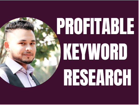 I will do excellent SEO keyword research to rank your site fast in google first page