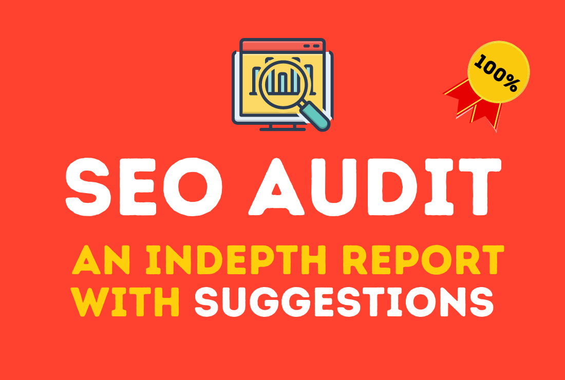 The only SEO audit your site needs with a handmade report and suggestions