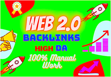 I will build 50 High DA Web 2.0 profile backlinks professionally