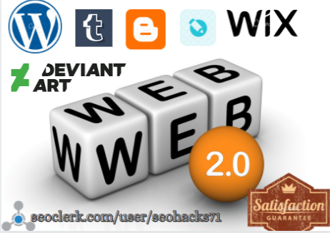 5 web 2.0 backlinks for strengthing your website