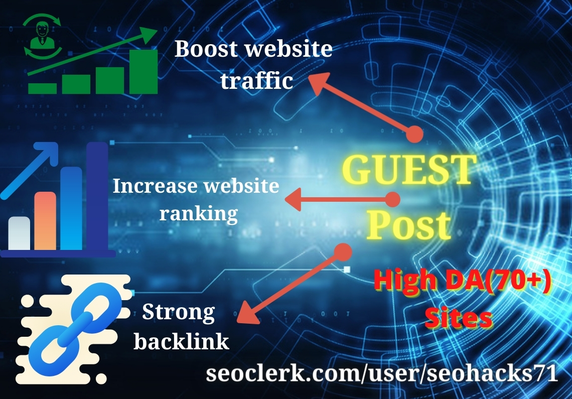 5 guest post for improve your website ranking