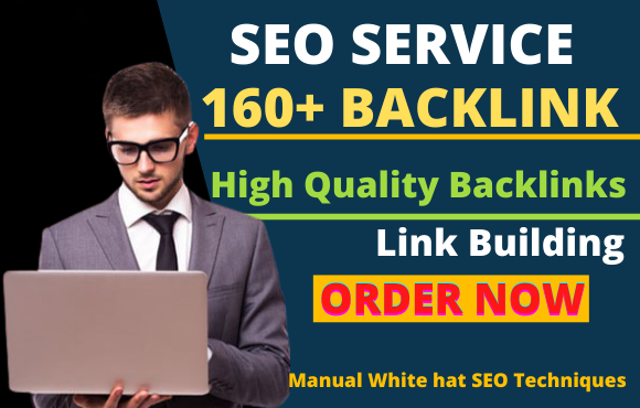 I will build160 pr9 high quality SEO dofollow backlinks
