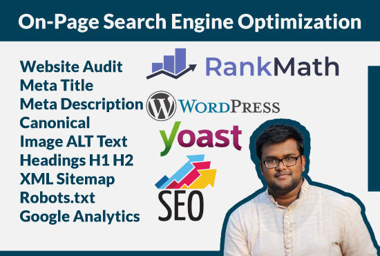 I will do WordPress on page optimization and Website Audit