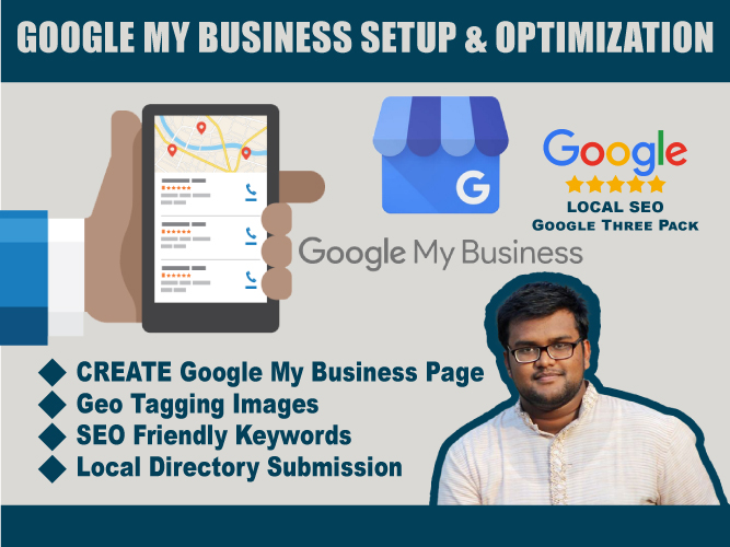 I will create,  optimize and verify Google My Business listing