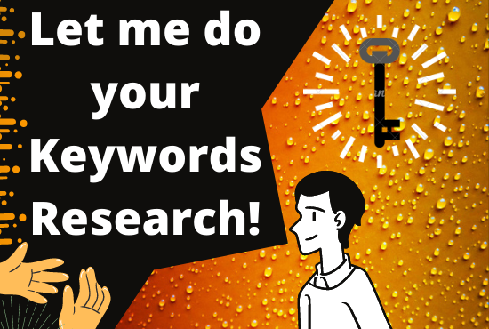 Create a amazing keyword research for your website.
