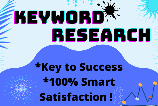 I will do keyword research in a special way.