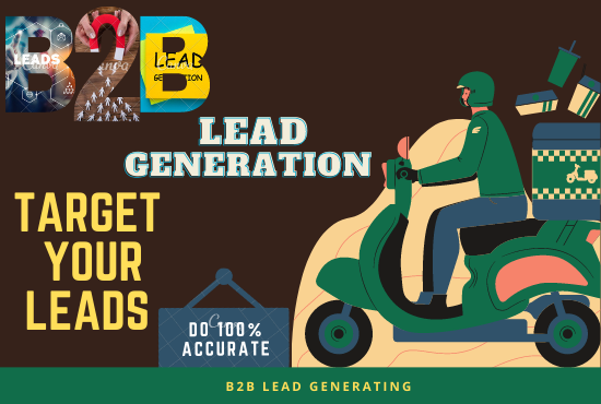 I will provide 300 b2b lead generation for your any business.