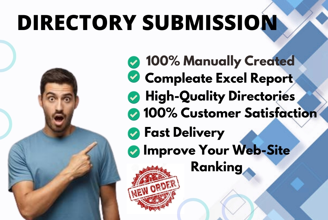 I will Provide 50 Directory Submissions from high authority Website