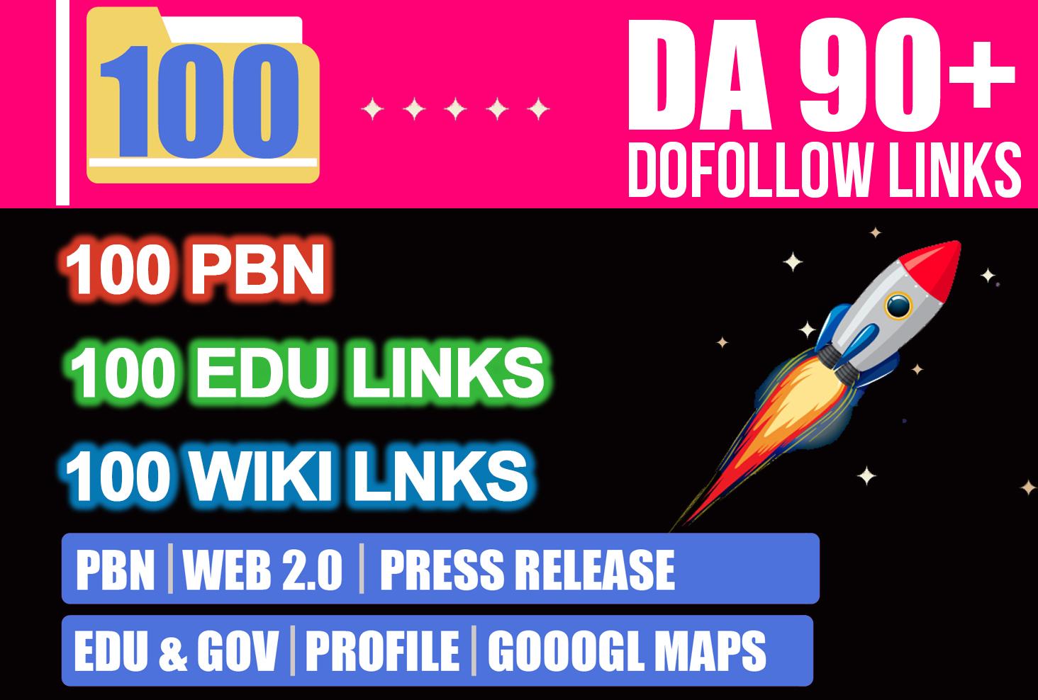 2021 Powerfully 100+,  PBN,  Web 2,  Wiki,  EDU,  Profile & Blogs comment