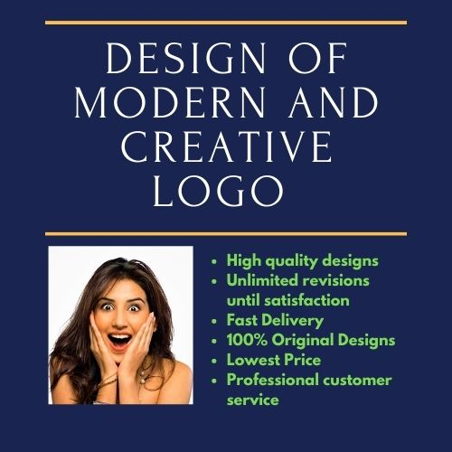 I will do Design Of Modern And Creative Logo for your business