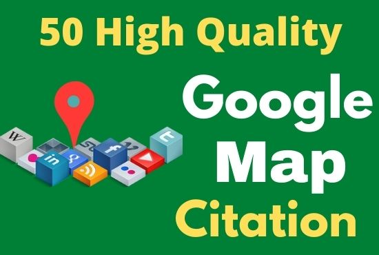 Create 50 best google maps points citations for your Business