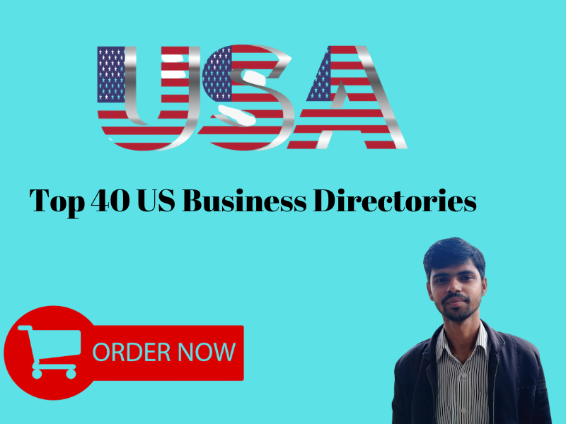 I will promote your business through top 40 US business listings