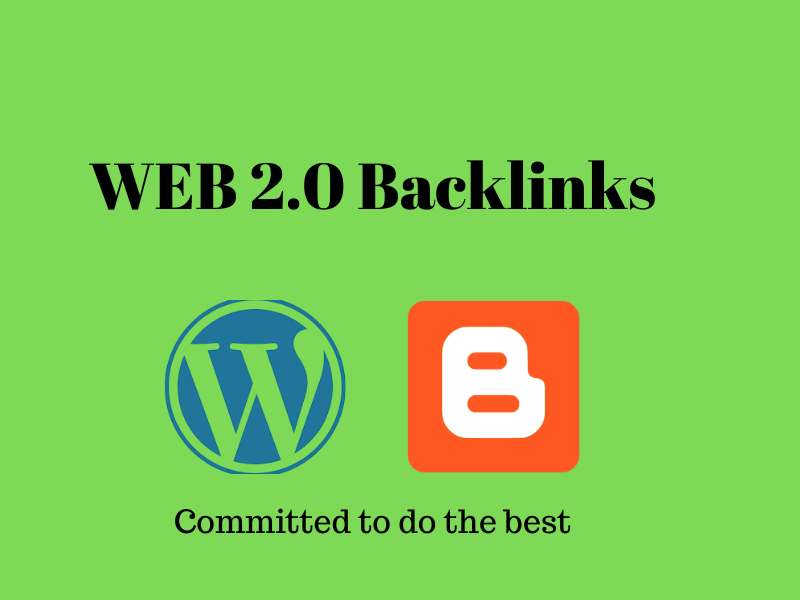 I will create top 20 high domain authority web 2 backlinks