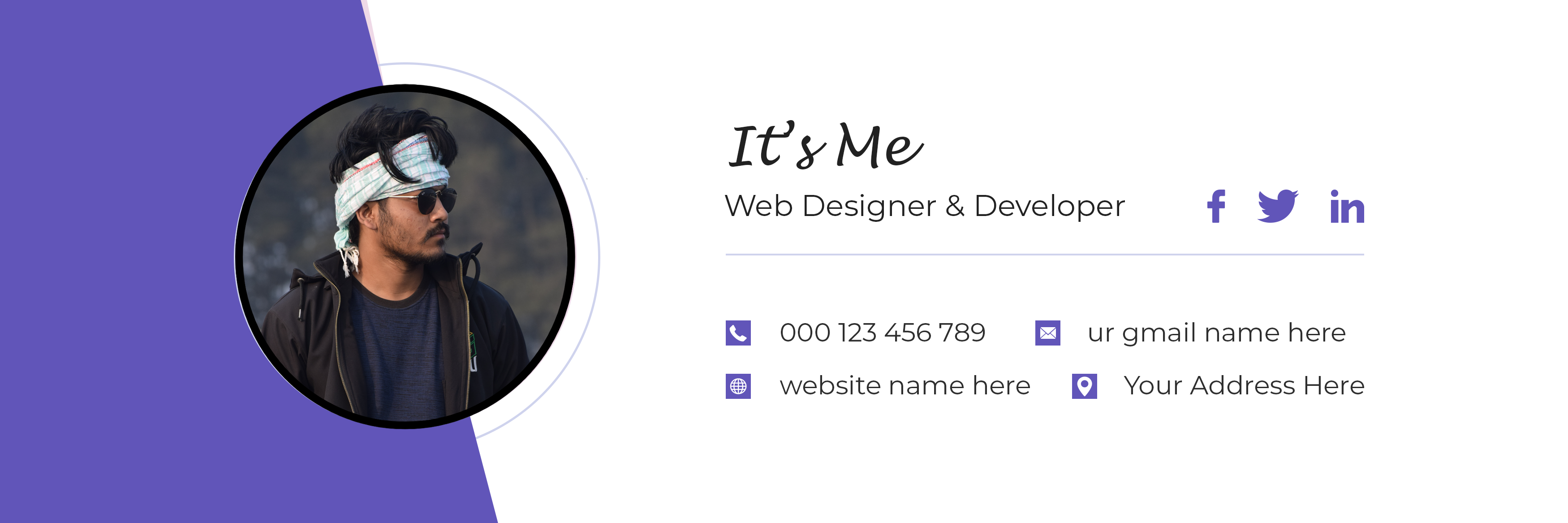 I will create clickable professional HTML email signature