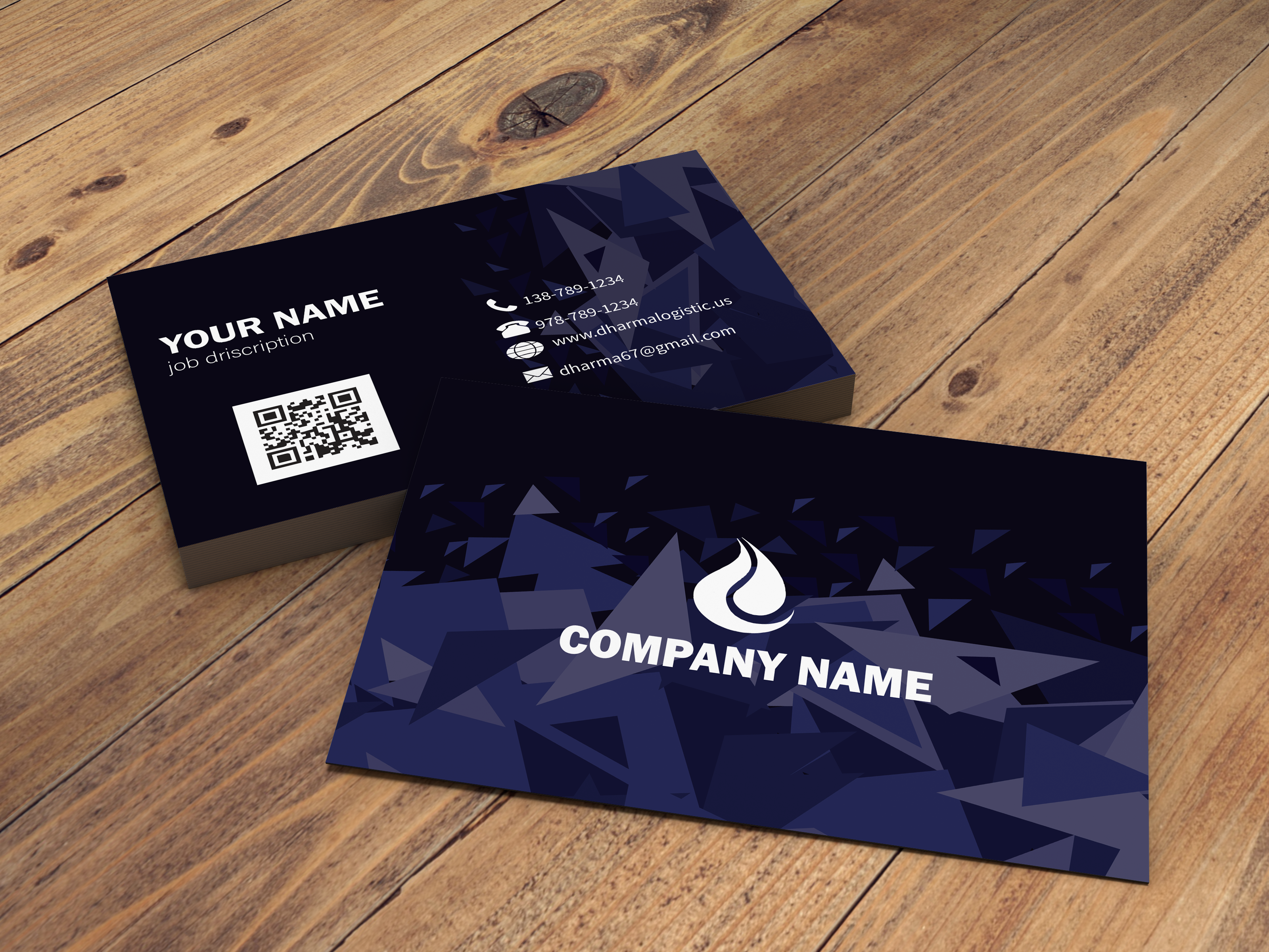I will do unique/creative business card design