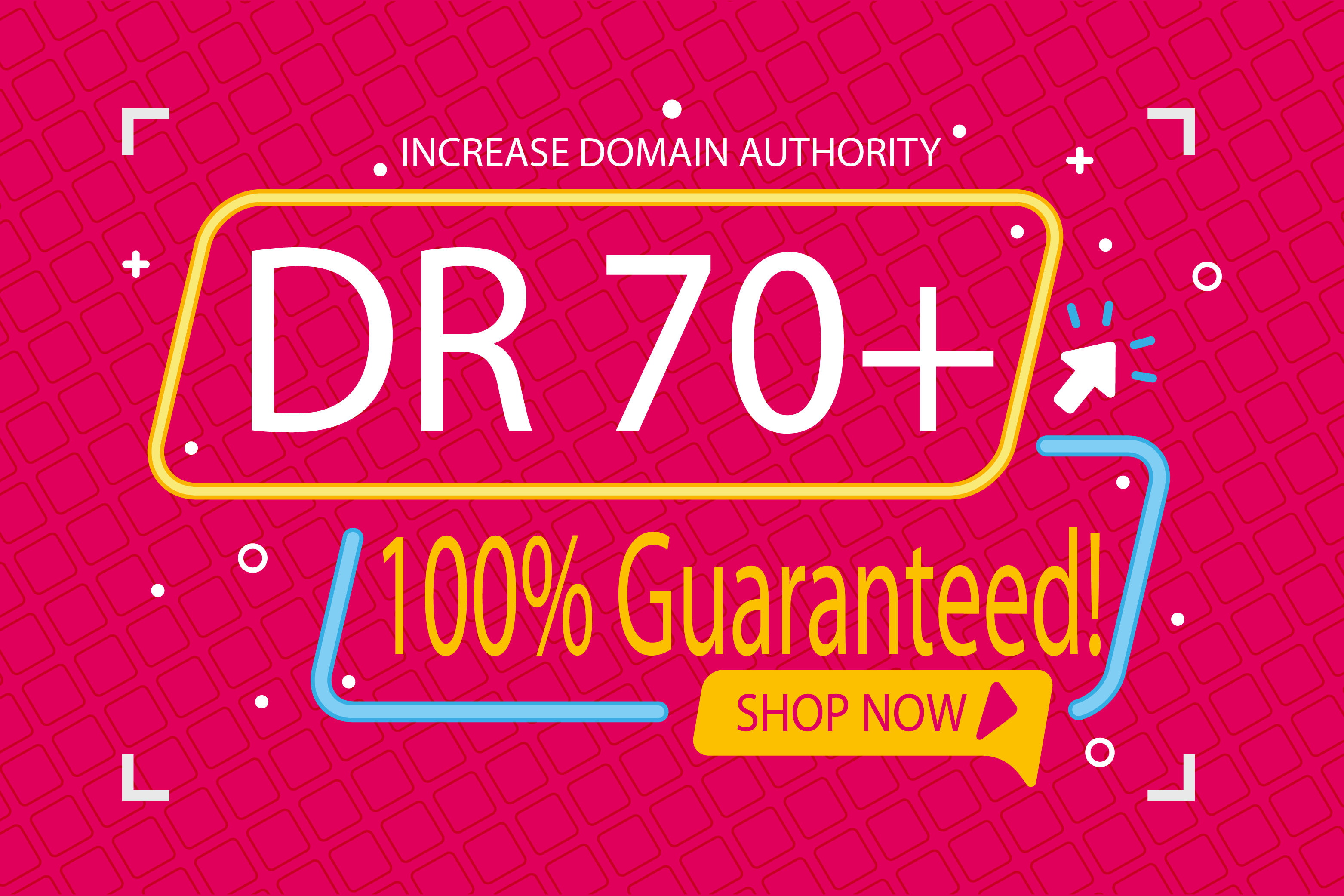 I will create 1800 High Quality Google Backlinks To Increase Your DR Up To 70 in just 18 days