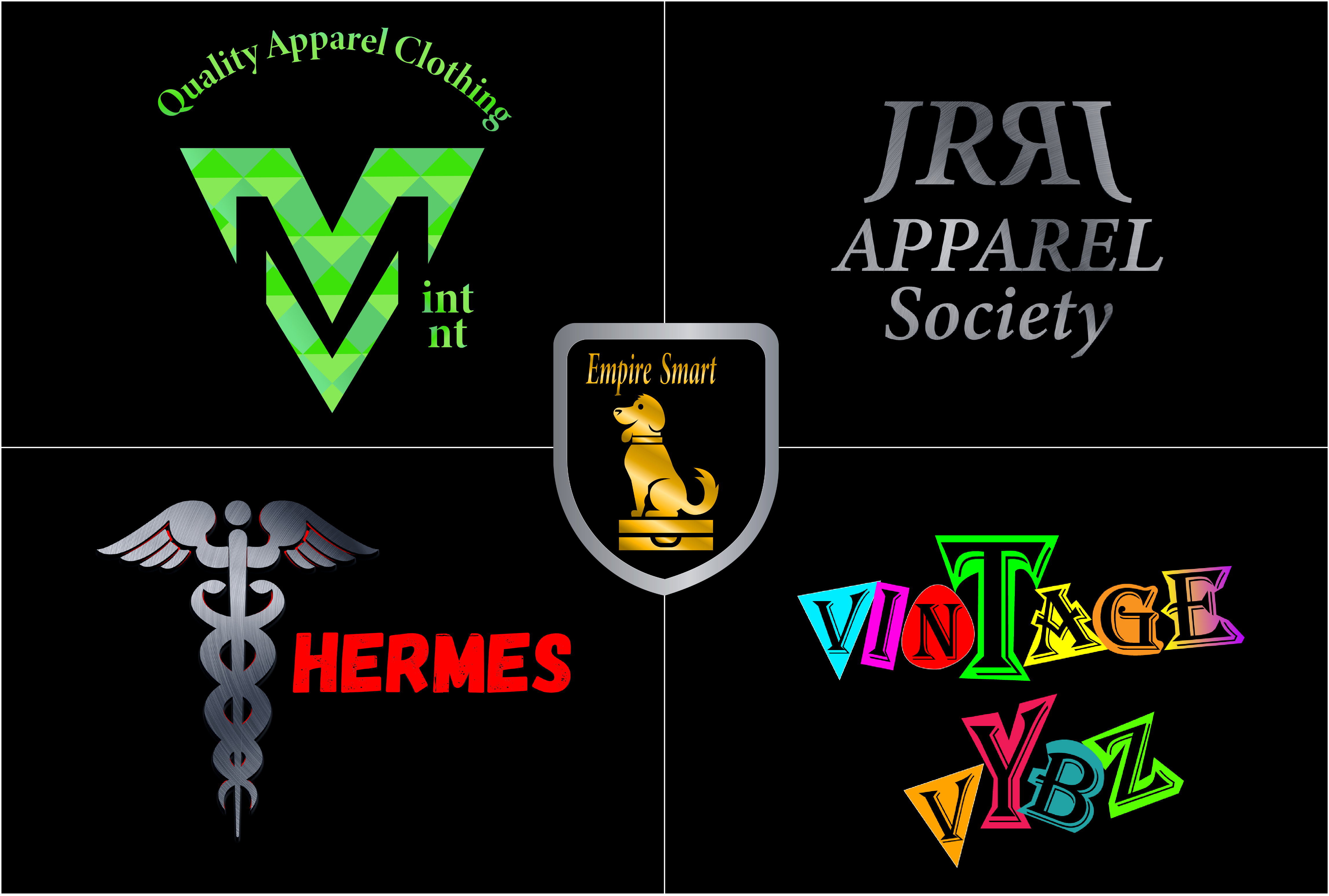 I will design professional urban streetwear clothing brand logo