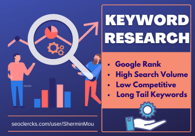 I will find the best seo keywords for your website