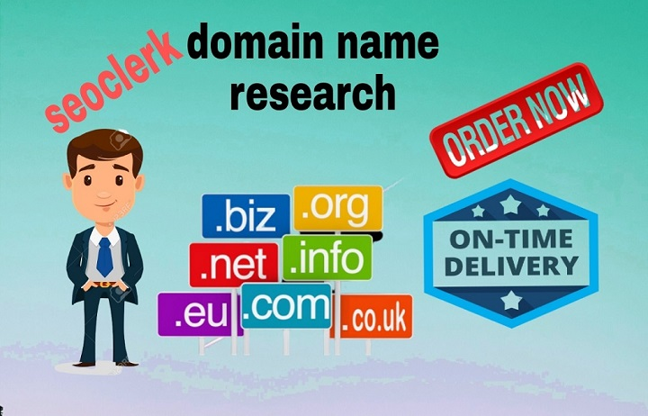 i will research and give you the best domain name for your business