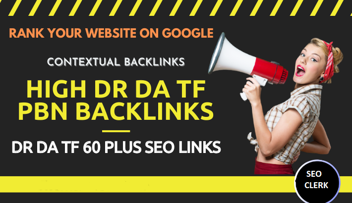 Extremely Powerful Seo PBN Homepage High DR DA And TF Permanent Backlinks For First Page Rank