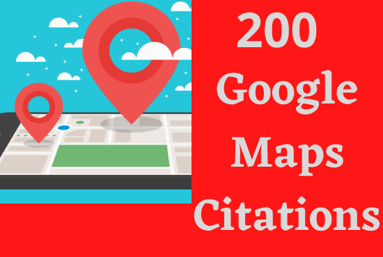 I will do 200 google point map citations for local SEO