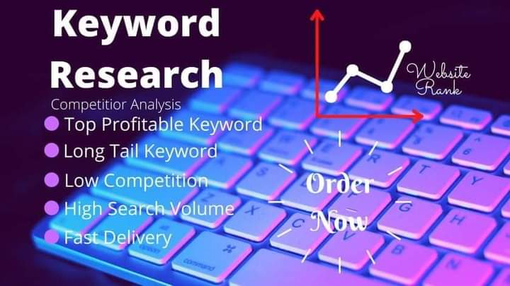 I will do keyword research and compitetor analyses