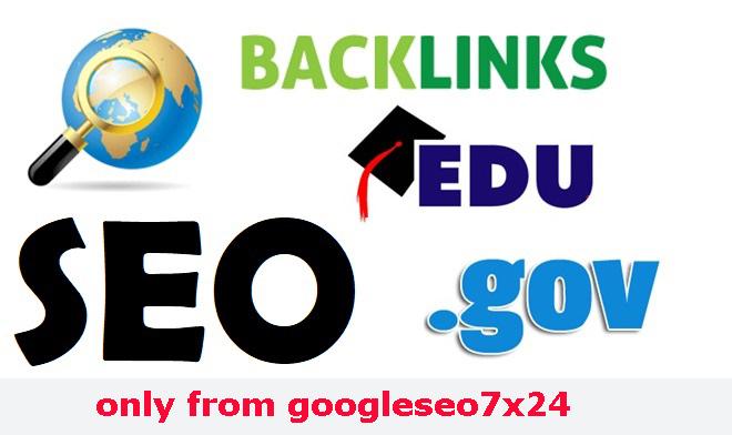 20 EDU & GOV Dofollow High Authority Backlink