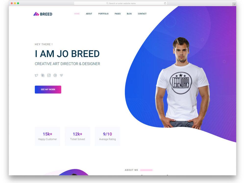 Dynamic Portfolio Website using Django framework