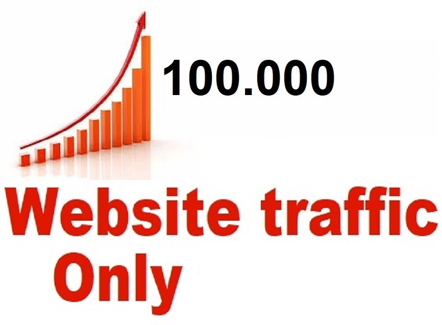 drive 100,000 web traffic,  google visitors instagram,  youtube,  twitter,  linkedin