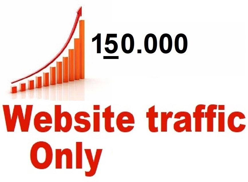 drive 150,000 web traffic,  google visitors instagram,  youtube,  twitter,  linkedin