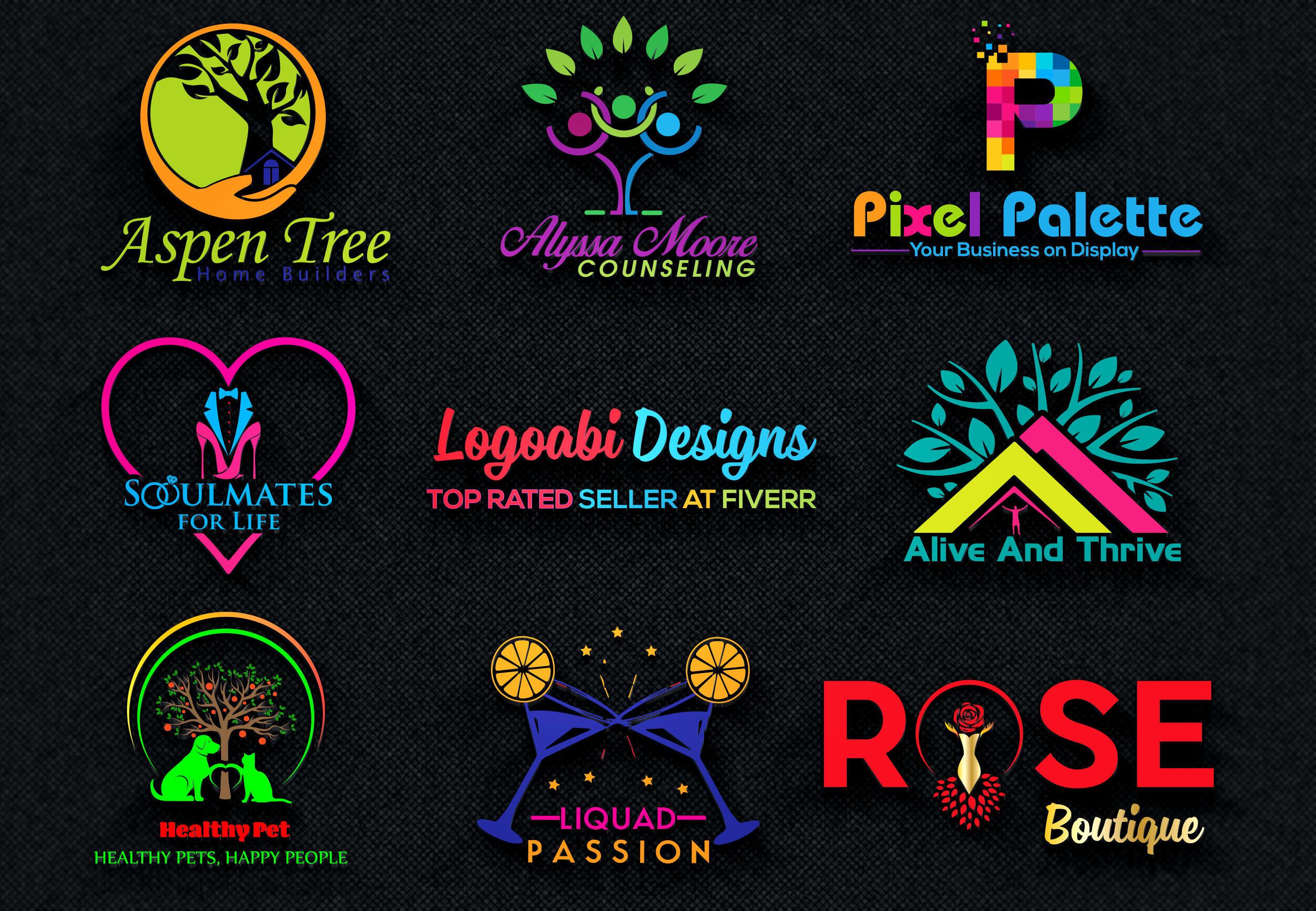 I will design 4 clean modern and minimalist logo