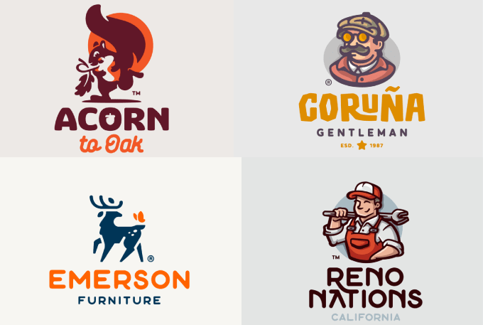 I will create unique versions with unlimited revision logo design