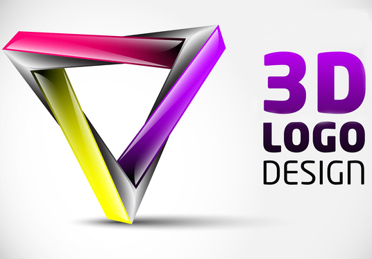 I will design eye catching 3d logo for your company