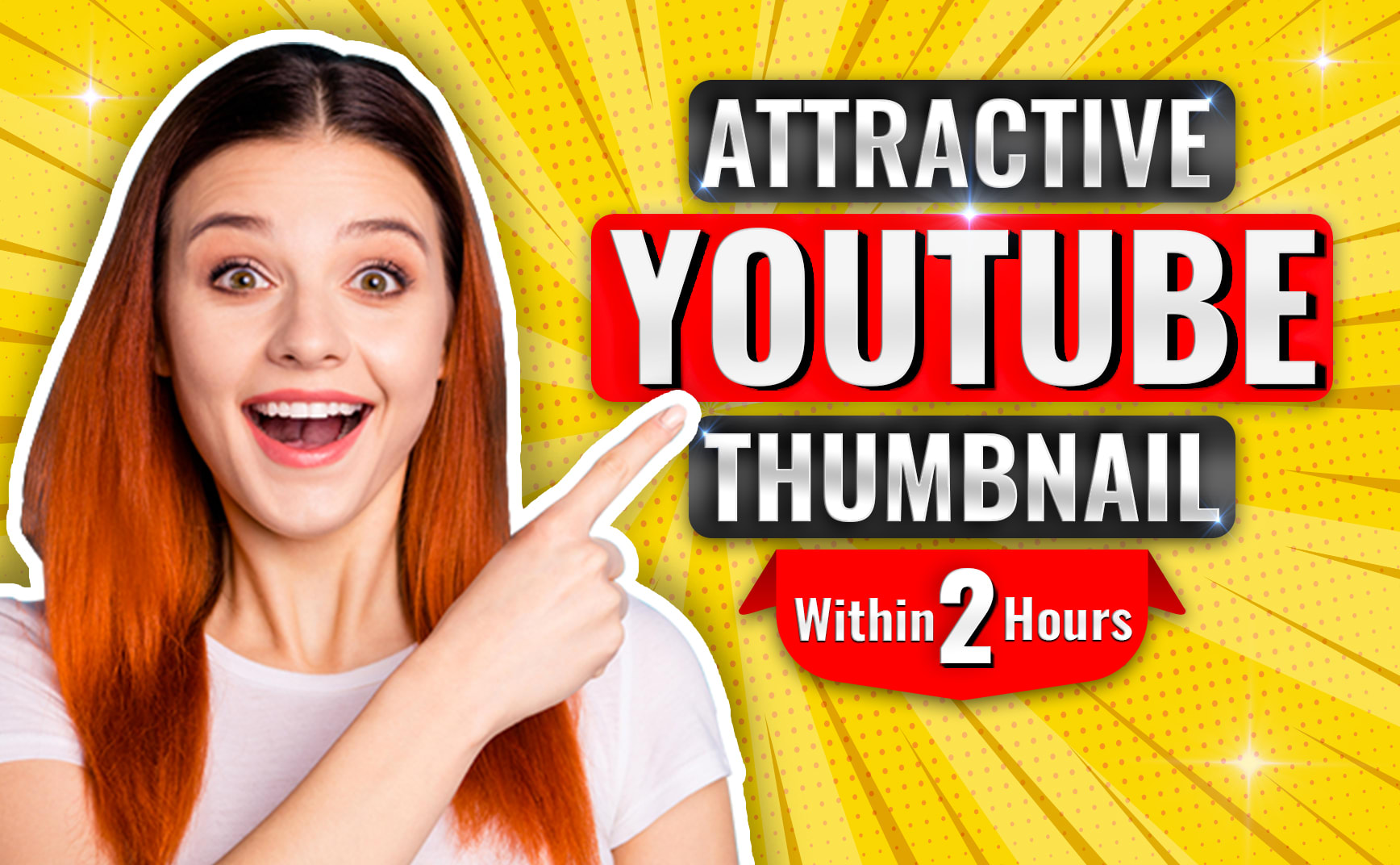I will Design Attractive Clickbait YouTube Thumbnail For Viral