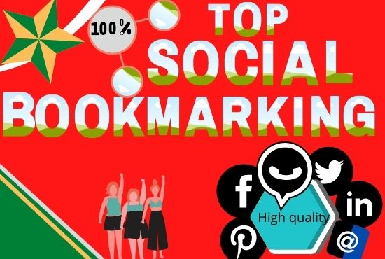 I Will Create 20 Social Bookmarking Backlinks For increase your website rank