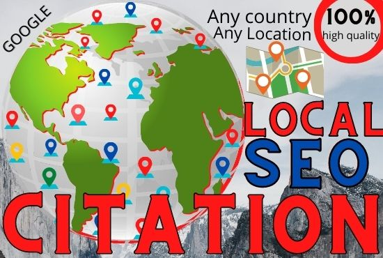 I will do 50+20 maps+ local citation high quality for local SEO for your company