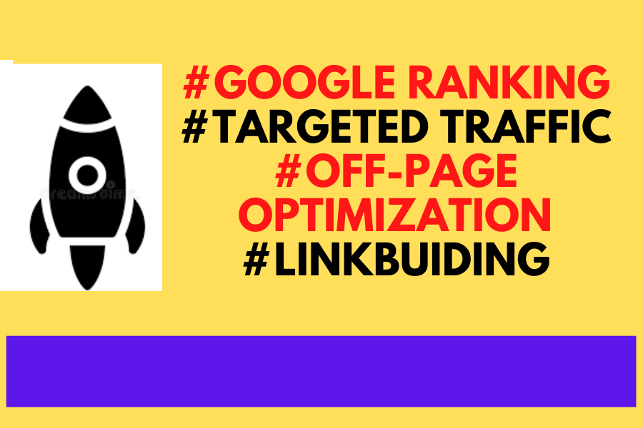 I will ensure you the best guaranteed Google 1st-page ranking with the best HQ link building service
